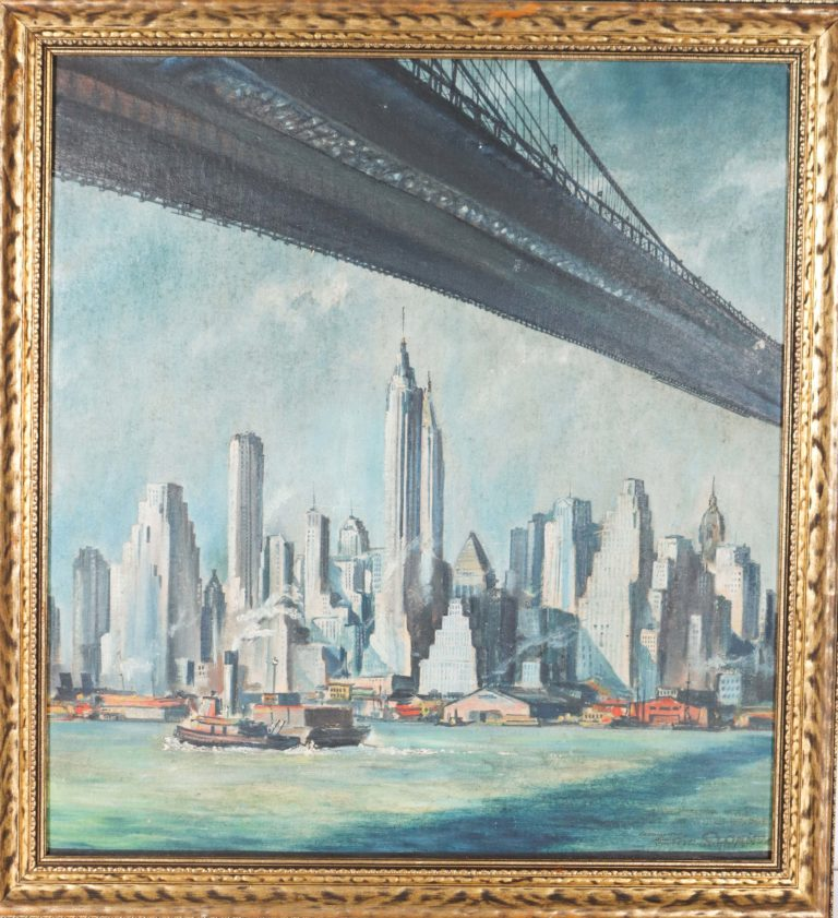 Read more about the article Eric Sloane (1905-1985) Oil on Board