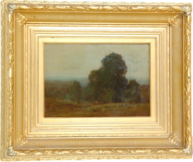 Read more about the article George Inness Jr. (1854-1926) Oil on Canvas