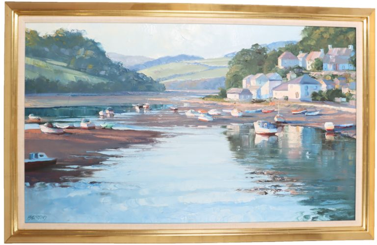 Read more about the article Howard Chesner Behrens (1933-2014)American Oil on Canvas
