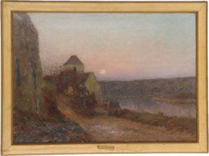 Jan-Eugene Julien Masse (1856-1950) Oil on Canvas