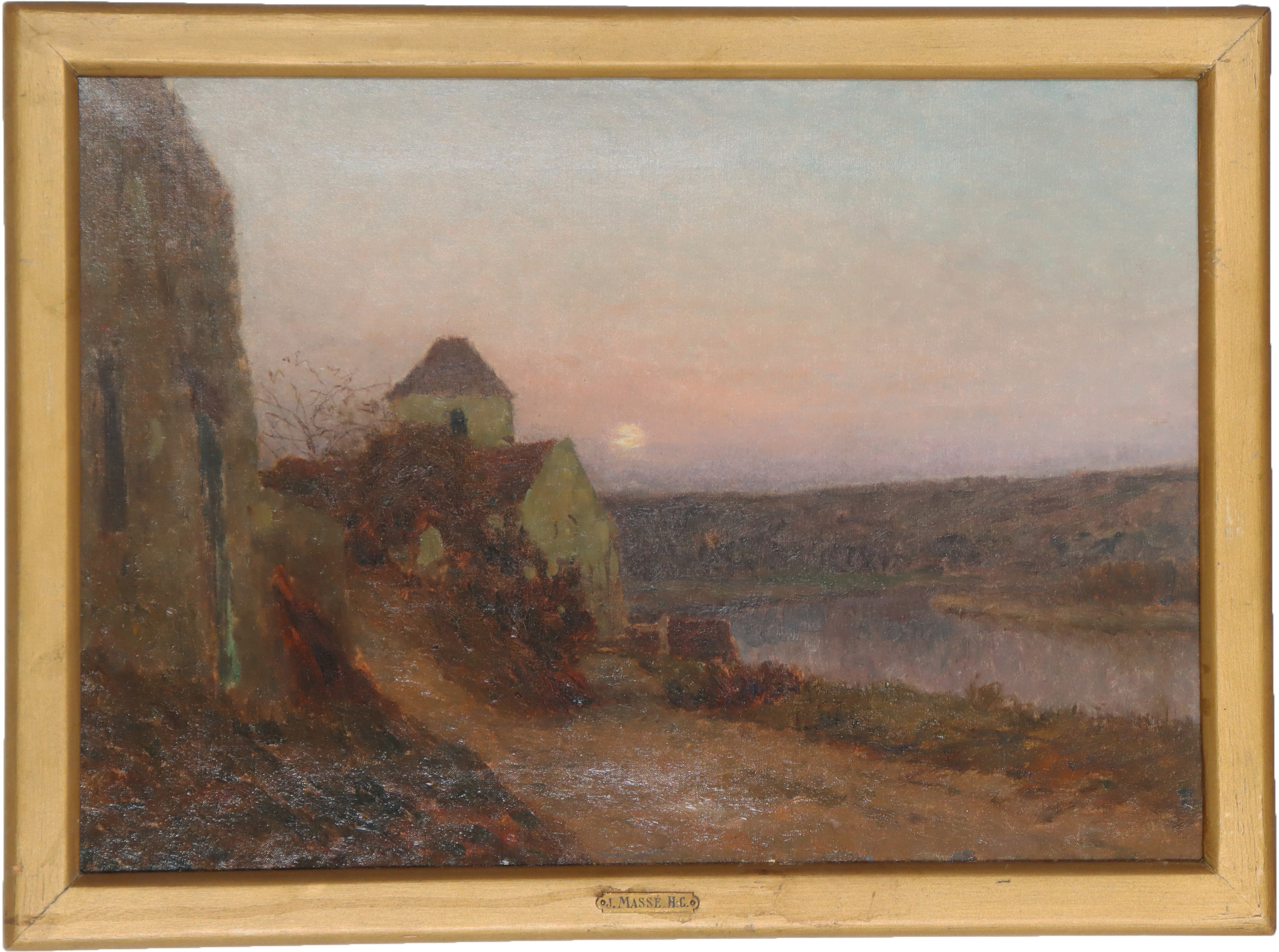 You are currently viewing Jan-Eugene Julien Masse (1856-1950) Oil on Canvas