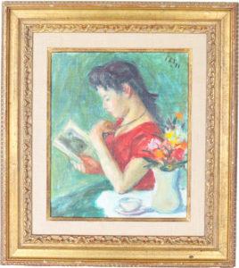 Robert Philipp (1895-1981) Oil on Canvas