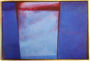 Robert Rector (b 1946) Acrylic on Canvas