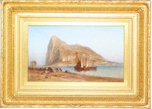 Robert Swain Gifford (1840-1905) Oil on Canvas