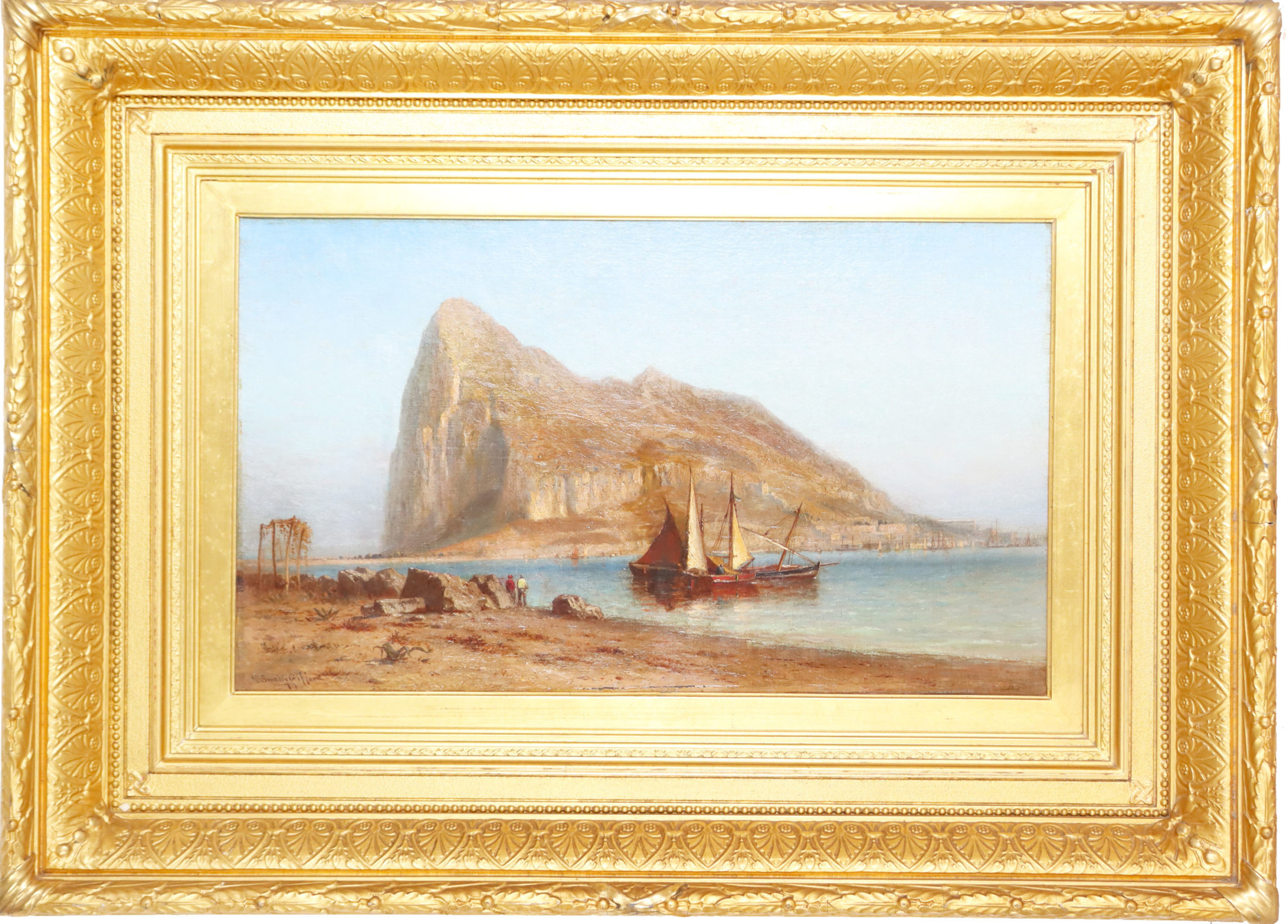 You are currently viewing Robert Swain Gifford (1840-1905) Oil on Canvas